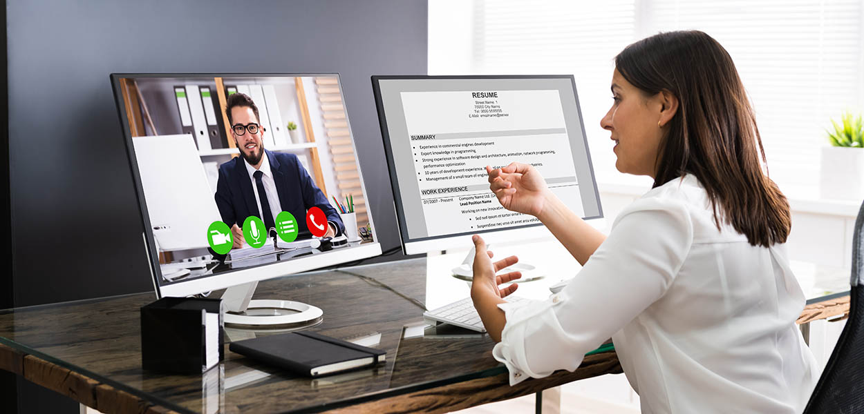 Learn about seven additional things to consider for video interviews
