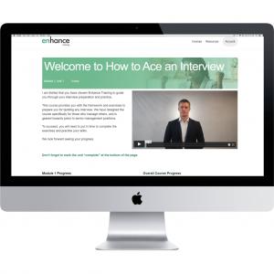 Desktop view of Interview Course