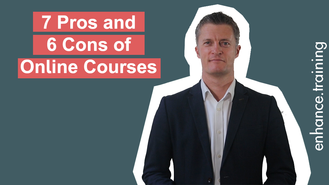 Pros and cons of online learning video