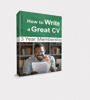 How to Write a Great CV Box G