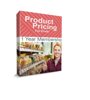 Product Pricing For Profit Box